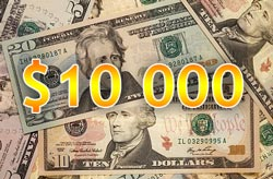 You are in debt for more than $10,000? Inquire about the way of sinking it